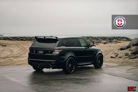 champagne range rover range rover sport with hre s200h in satin black hre performance