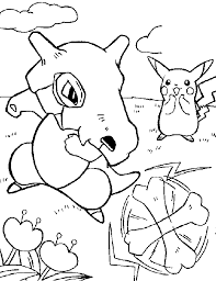 pokemon color pages pikachu pokemon coloring pages pikachu 364461