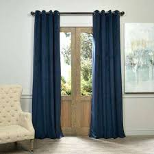 Grommet Kitchen Curtains Slate Blue Curtains U2013 Teawing Co