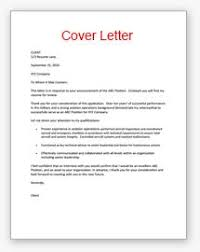 Cover Letter  Sample Cover Letter Sample Cover Letter Format For Job Application     Example