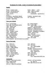 english teaching worksheets trinity exam