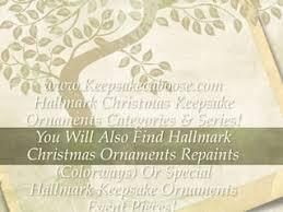 hallmark collectible ornaments special editions