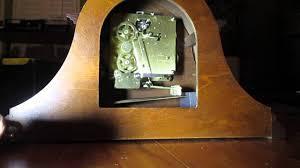 Howard Miller Chiming Mantel Clock Inside View Of My Howard Miller Mantle Clock Youtube