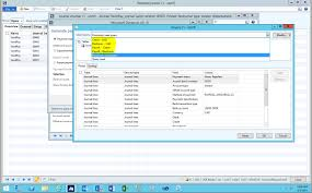saving queries in microsoft dynamics ax 2012 encore business