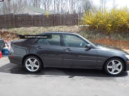 used lexus is 300 2003 lexus is 300 information and photos zombiedrive