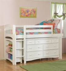 castello white twin jr loft bed with 6 drawer dresser ideas for
