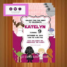 eric carle invitations star wars birthday invitation star wars luke skywalker