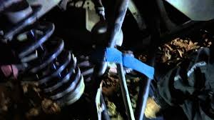 how to repair bent tie rod in the night video can am atv forum