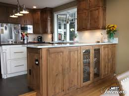 Brookwood Kitchen Cabinets Starmark Cabinetry Hanover Door Style In Cherry Finished In Nutmeg