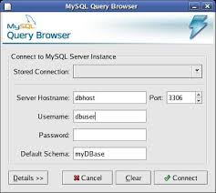 sql query browser tutorial the mysql query browser techotopia
