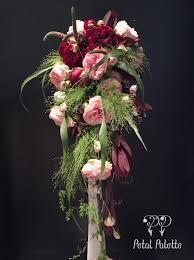 Cascade Bouquet Hand Tied Cascade Bouquet Seoul Florist Petal Palette Seoul