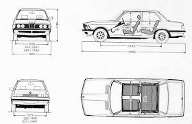 Blue Print Size by Bmw 3 Series E21 Smcars Net Car Blueprints Forum
