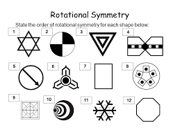 rotational symmetry all 2 dimensional shapes have some rotational