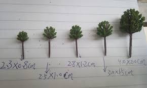 miniature trees model trees miniature artifical trees
