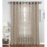 Double Wide Grommet Curtain Panels Sheer Draperies
