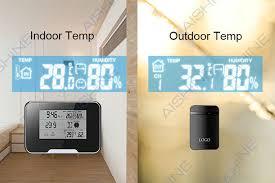 Spy Camera In Bathroom Aishine Hd 1080p Weather Station Wifi Camera Indoor Temp Outdoor