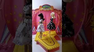 barbie corvette silver barbie superstar fashion show stage youtube