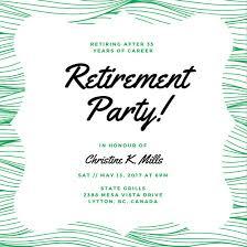 retirement party invitations customize 35 retirement party invitation templates online canva
