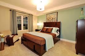 nice brown bedroom color ideas with green and creamy color playuna