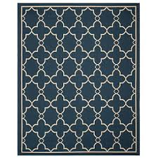 Area Rugs Club Safavieh Resort Collection Mare Yale Blue Area Rug 8 X 10