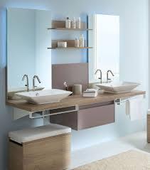 fabriquer meuble salle de bain beton cellulaire sanitaire meubles salle de bains