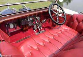 Diamond Tuck Interior Rolls Royce Silver Ghost 1911 Which Comes Complete With A