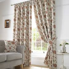 Pencil Pleat Curtains Hereford Lined Pencil Pleat Curtains Terracotta