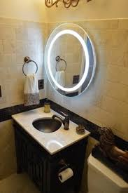 kyklos led round bathroom mirror bed and bath pinterest