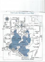 Coldwater Michigan Map by Gun Lake Cottage Rentals Home