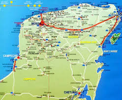 map of mexico yucatan region things to do in the yucatan peninsula mexico travel map of