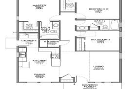 small 3 bedroom house floor plans 30 economy one simple house floor plans simple 4 bedroom house