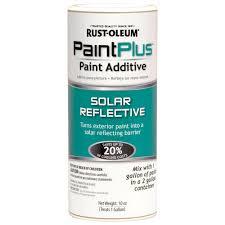 rust oleum 10 oz solar reflective energy saver paint additive