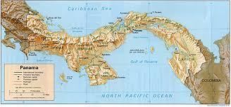 Panama City Map Panama Relief 1995 Geography Of Panama Wikipedia The Free