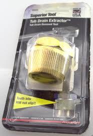 Bathtub Drain Extractor Tool Superior Tool 1 1 2