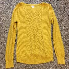 yellow sweater 17 mossimo supply co sweaters yellow sweater from