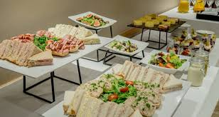 Buffet Set Up by Hilton Sheffield Hotel Dining