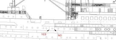 titanic floor plan titanic cad plans