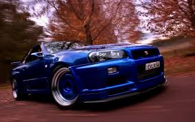 blue nissan skyline fast and furious skyline gt r wallpapers group 89