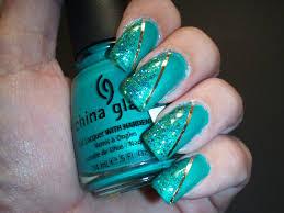 turquoise nail designs nail art