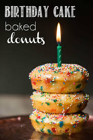 make birthday cake birthday cake baked donuts recipe self proclaimed foodie