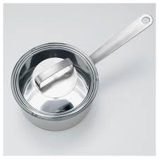 ikea 365 saucepan with lid stainless steel glass 2 l ikea