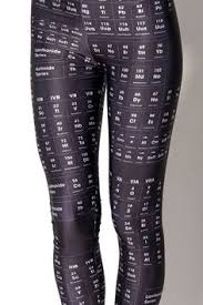 Science Is Awesome Periodic Table Of Elements Eva Shower Curtain Periodic Table Of Elements Leggings S T Y L I S H I N G