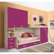chambre combiné fille chambre d enfant complète hurra combiné lits étages décor orme