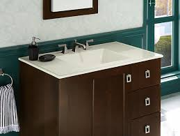 Kohler Bathroom Sink Colors - k 2781 8 ceramic impressions 37 inch rectangular vanity top