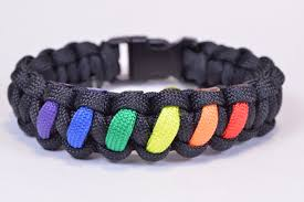 make paracord bracelet youtube images Make a rainbow colored paracord survival bracelet with buckle jpg
