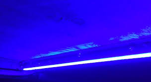 Install Led Light Strip by Rv Led Blue Strip Light Install Diy Youtube