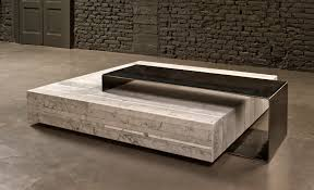wood coffee table with marble top descargas mundiales com