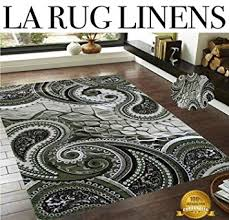 Black And White Area Rugs For Sale La Rug Linens 5x7 Blowout Sale New Green Black