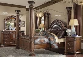 king poster bedroom set cafe noir king poster canopy bedroom set master bedroom furniture