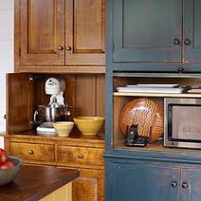 Kitchen Appliance Storage Ideas Build A Diy Appliance Garage Building Plans By Buildbasic Www